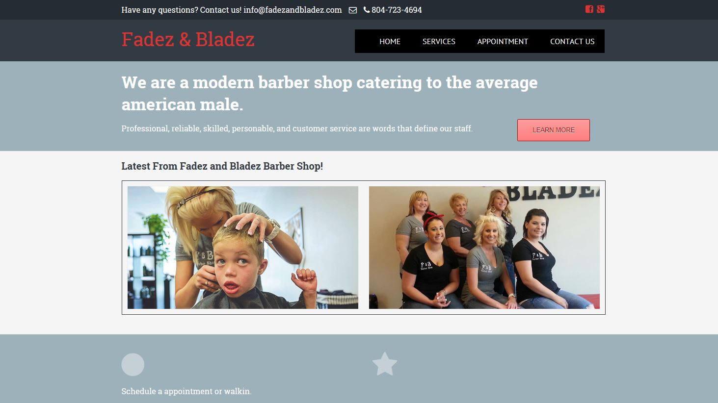 Fadez and Bladez Barber Shop