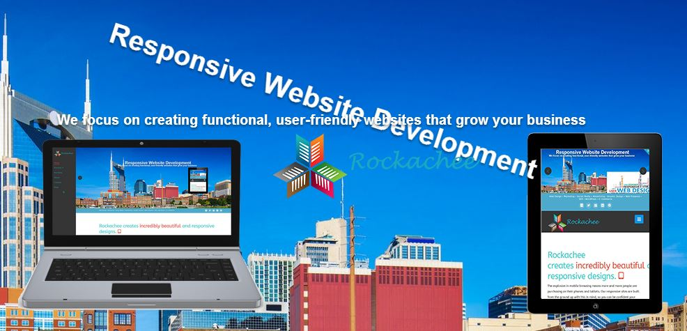 Nashville Web Design with Rockachee