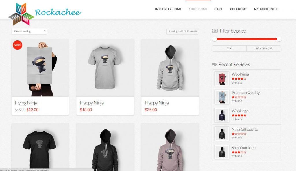 Ecommerce Shopping Cart Rockachee