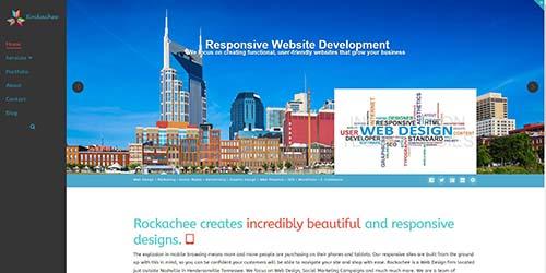 Hendersonville web design