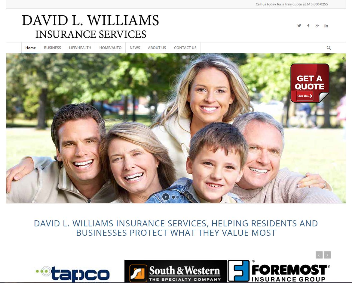 David L Williams Insurance Services Hendersonville Tn 37075